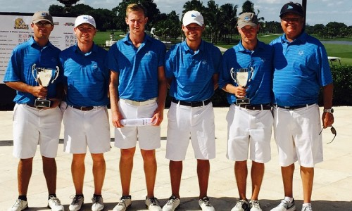 Coastal men complete big fall with runner-up finish.