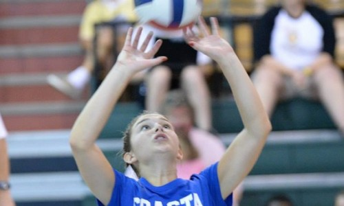 Cayley Meiners plays well in team's signature win.