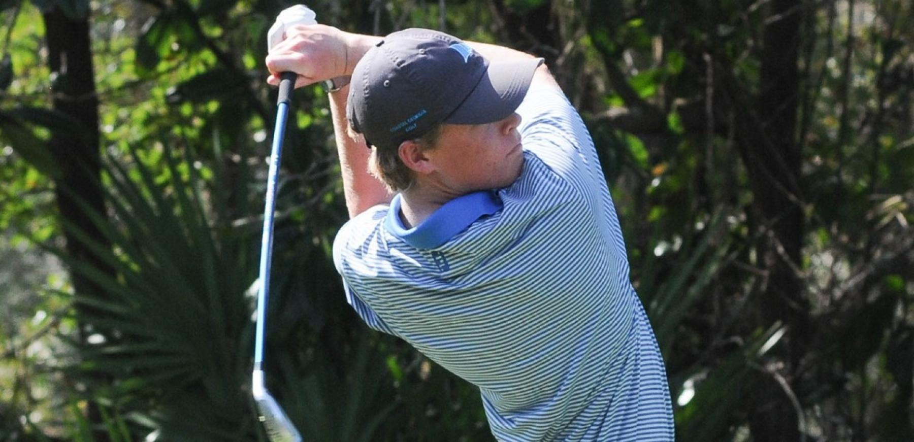 Men's golf ends up fifth at Innisbrook